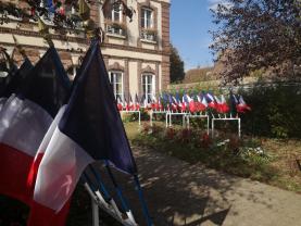 Cérémonie des drapeaux