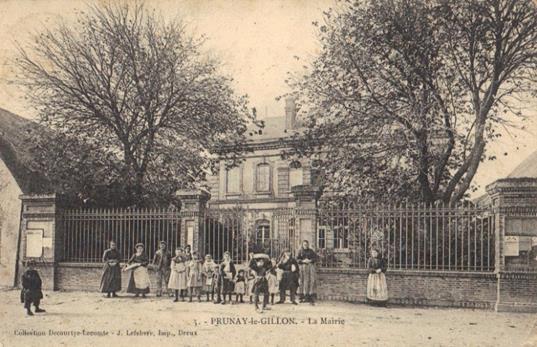 École des garçons - Mairie actuelle - vers 1900