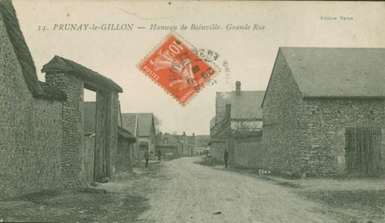 Boinville - rue principale