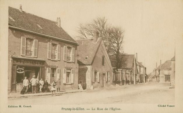 Devanture Boucherie Poitevin - Rue de l'église