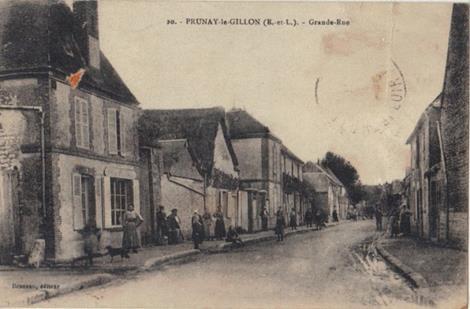 Grande rue - Boulangerie