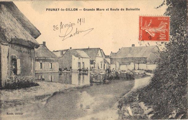 Rue du Bout de prunay vers Boinville