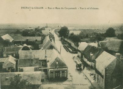 Vue de la mare du Croquenault – Café Massot