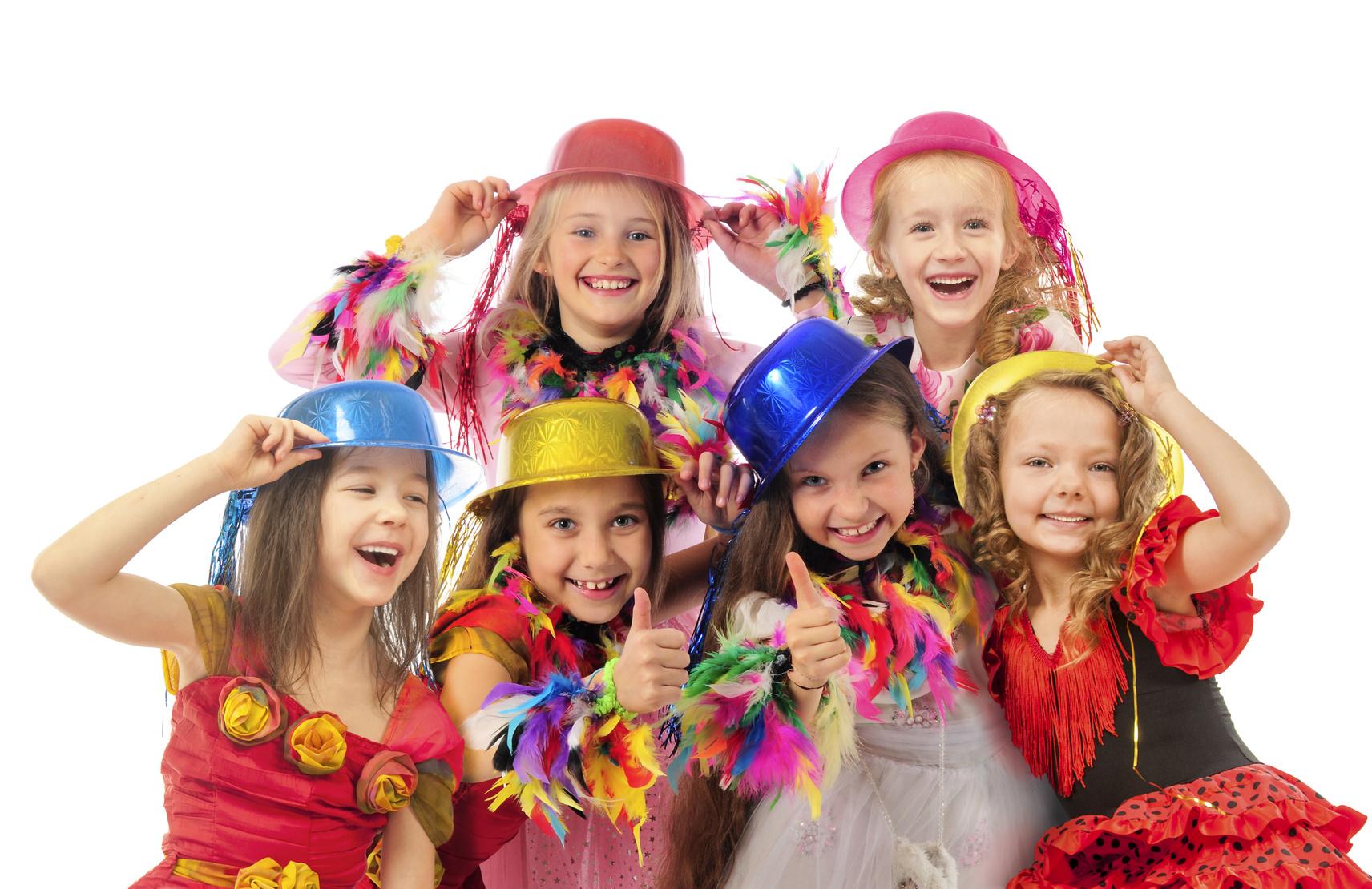 Happy beautiful children