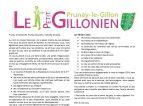 Le Petit Gillonien N°11 – Janvier 2018