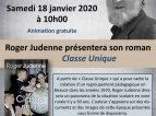 Echanges et dédicaces avec Roger Judenne au Préau