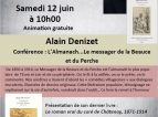 Conférence Alain Denizet 12 juin